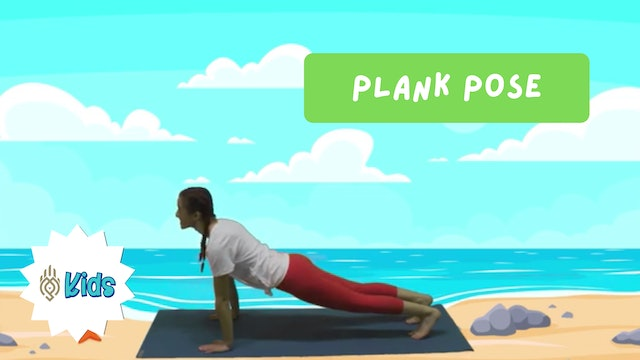 How To Practice Plank Pose | An OM Warrior Kids Yoga Pose Tutorial