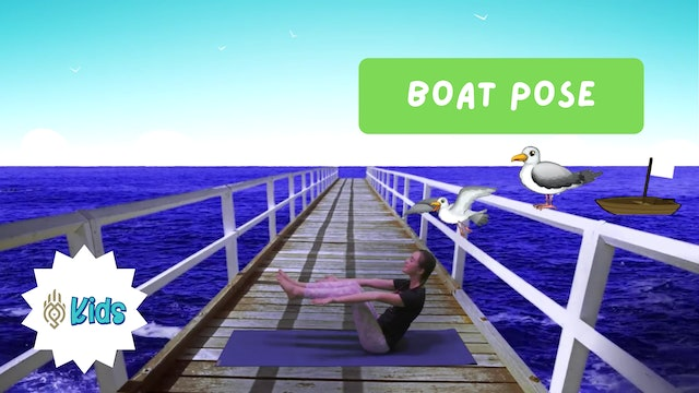 How To Practice Boat Pose | An OM Warrior Kids Yoga Pose Tutorial