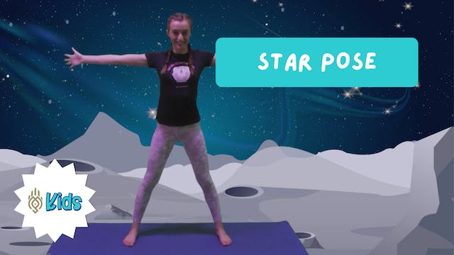 How To Practice Star Pose | An OM War...