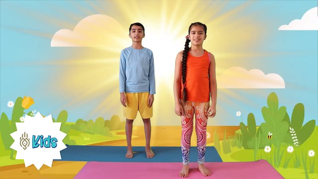 Week 3 of Surya Namaskar | An OM Warr...