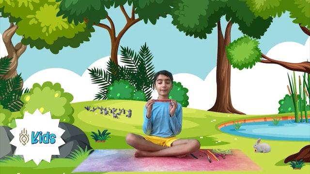 How To Make A Meditation Mala | An OM Warrior Kids Mindfulness Adventure