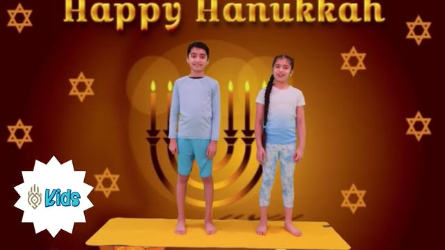 Happy Hanukkah | An OM Warrior Kids H...