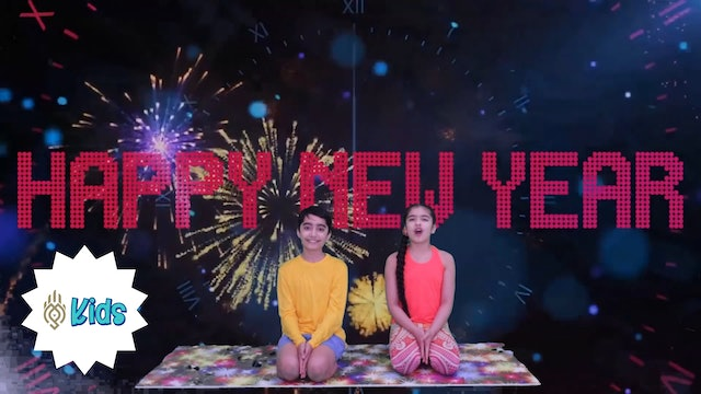 Happy New Year! | An OM Warrior Kids Holiday Yoga Video