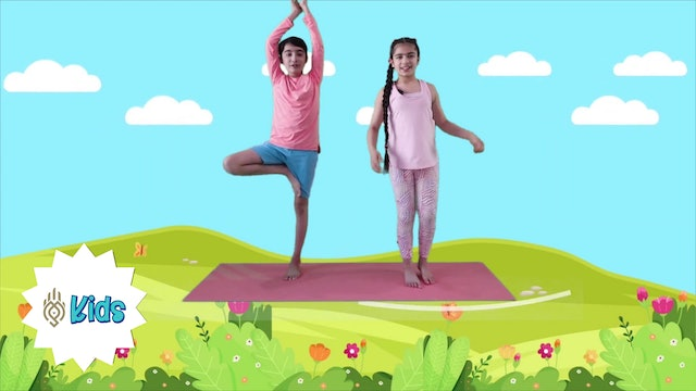 Spring Is Here! | An OM Warrior Kids Yoga Adventure