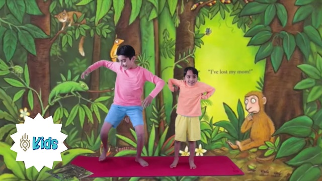 Where's My Mom? by Julia Donaldson | An OM Warrior Kids Book-Inspired Yoga Video