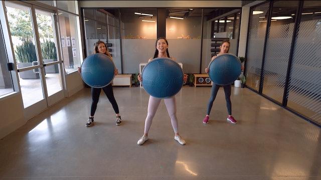 Unmotivated to Motivated BOSU Workout | Katie Kasten
