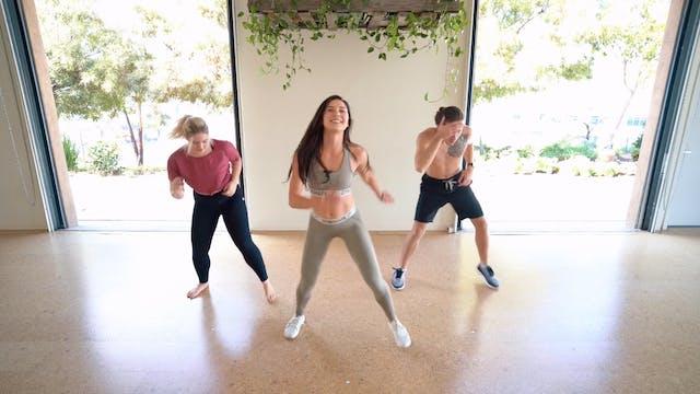 Latin Swang Cardio | Katie Kasten
