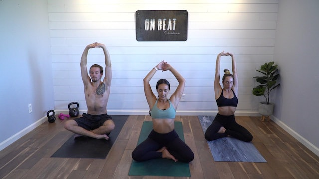 Slow Your Roll Yoga Flow | Brittney Ellers