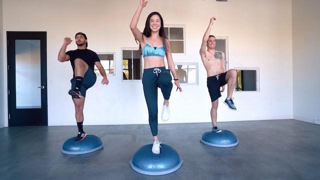 Bosu Balancing Challenge | Katie Kasten