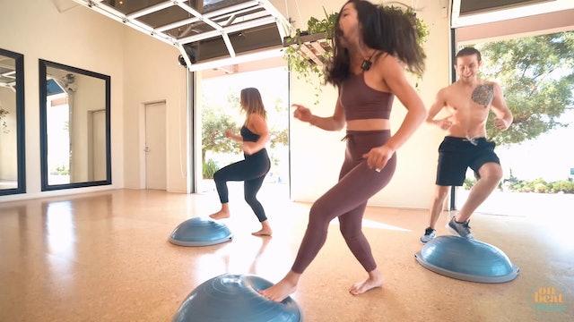 Bouncy Bosu Quick Workout | Katie Kasten