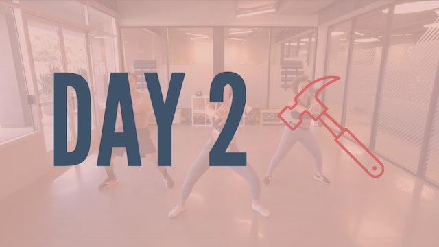 Day 2 | Twerkout Series Pt. 1
