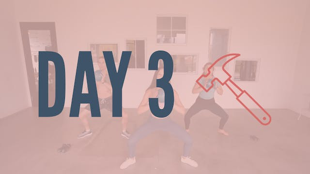 Day 3 | Feelin' Hyphy Total Body Sculpt