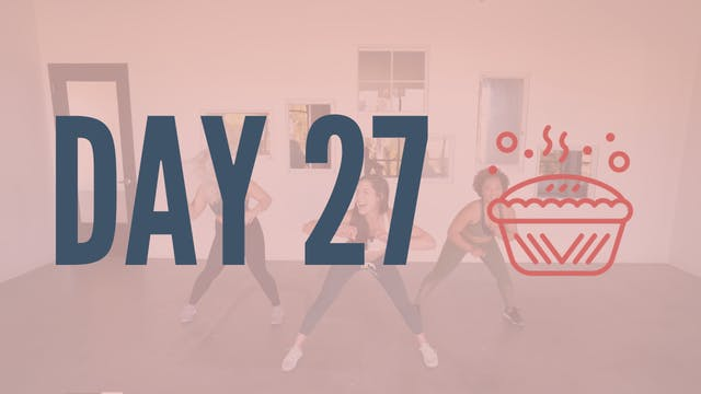 Day 27 | Feeling Myself Twerk Cardio