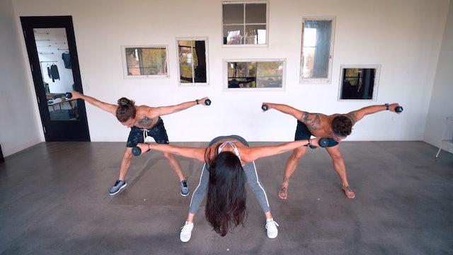 Happy AF Yoga Sculpt | Katie Kasten