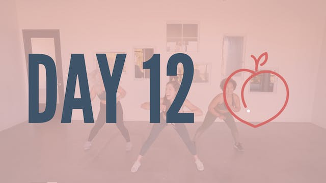 Day 12 | Feeling Myself Twerk Cardio
