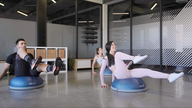 Happy Beats On The Bosu | Katie Kasten