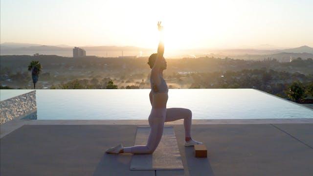 Hip Mobility Morning Flow | Katie Kasten