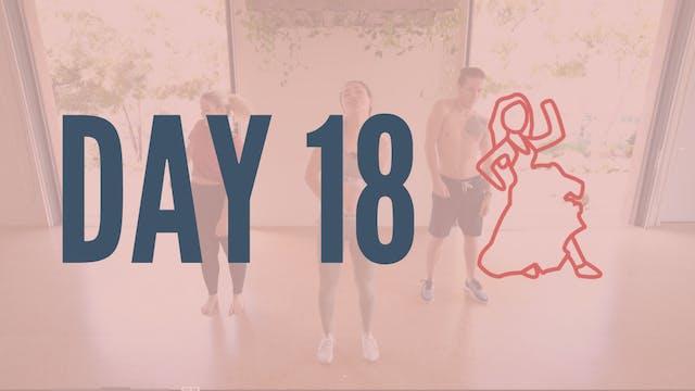 Day 18 | Latin Swang Cardio