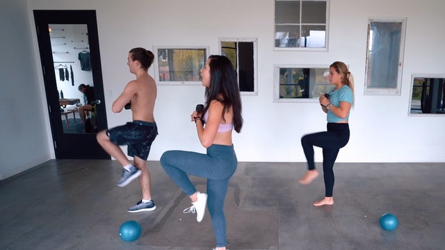 Feelin' Hyphy! Total Body Sculpt | Katie Kasten