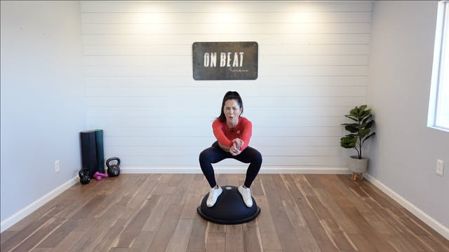 Hyphy HIIT On The Bosu | Katie Kasten