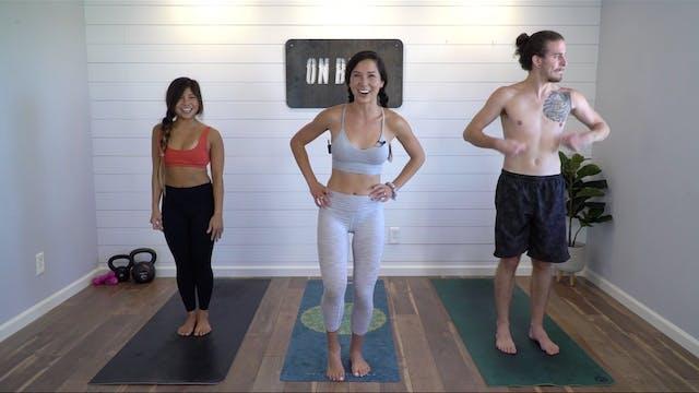 Random Throwback Dance Yoga | Katie K...