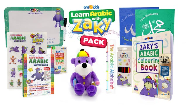 NEW - Learn Arabic with ZAKY Pack