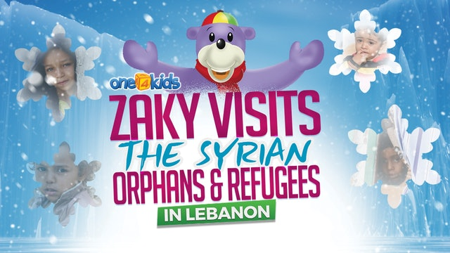 Zaky Visiting Syrian Orphans in Lebanon 2018