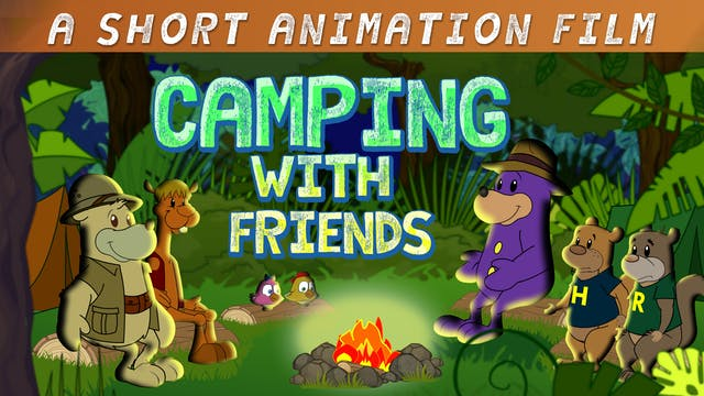 Camping With Zaky & Friends