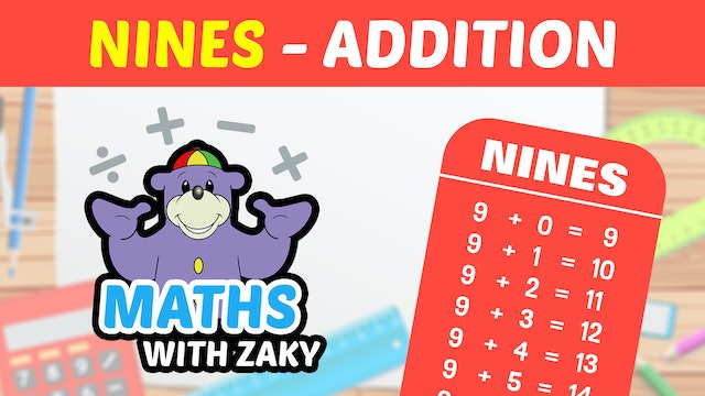 📕 Learn Maths with Zaky - Additions (Number 9)