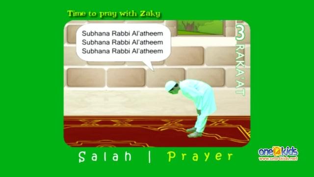 How to pray 3 Rakat (3 units) - Step ...