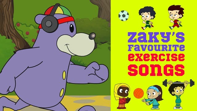 🏃♂️ Zaky's Favourite Exercise Songs 🎵