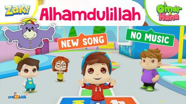 Alhamdulilah Song by Zaky's Friends, Omar & Hana