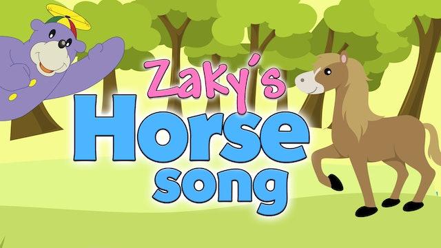 Zaky's Horse SONG