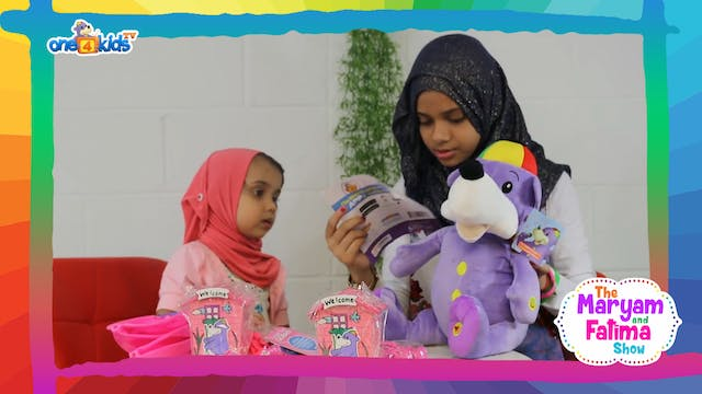 Maryam & Fatima Unboxing Gifts From Zaky