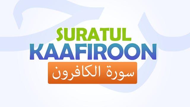 Suratul-Kaafiroon