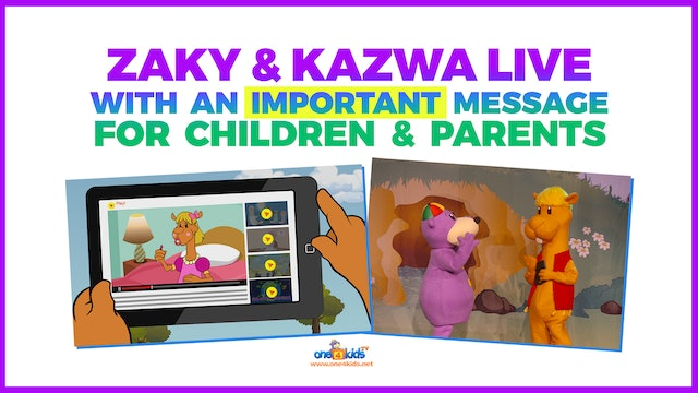 Zaky & Kazwa Perfom LIVE with a VERY Importance Message for us!