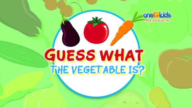 Guess What the Vegetable is?