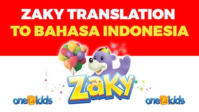 Zaky Translation From English to Baha...