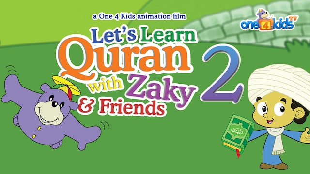 Let's Learn Quran with Zaky & Friends...
