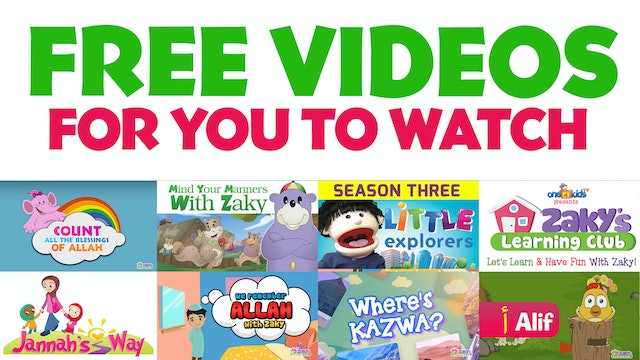 Free videos for you to watch - One4kids tv