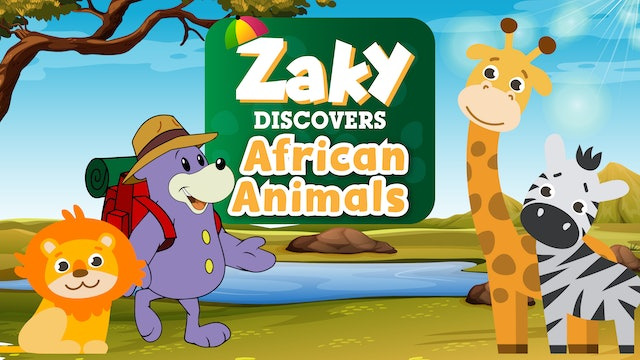 Zaky Discovers African Animals