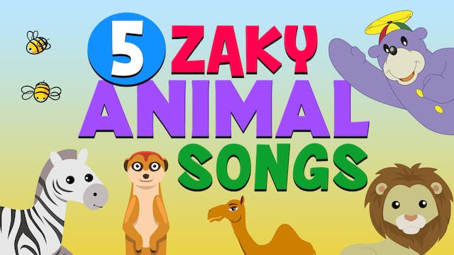 5 Zaky Animal Songs