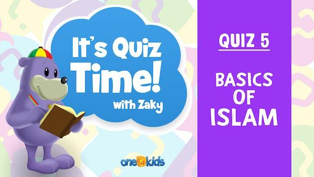 It's Quiz Time With Zaky - 5 - Basics...