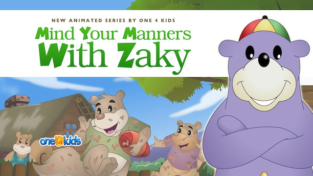 Mind Your Manners With Zaky Series