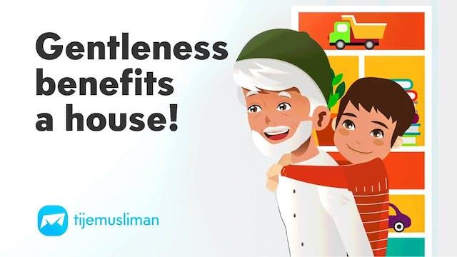 Gentleness Benefits A House!