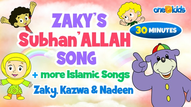 Zaky's Subhanallah Song + more Islamic Songs - Zaky, Kazwa & Nadeen