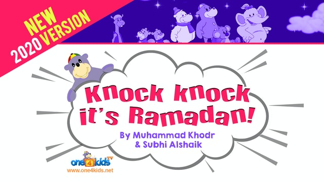 NEW! Knock Knock It's Ramadan! (2020 version)