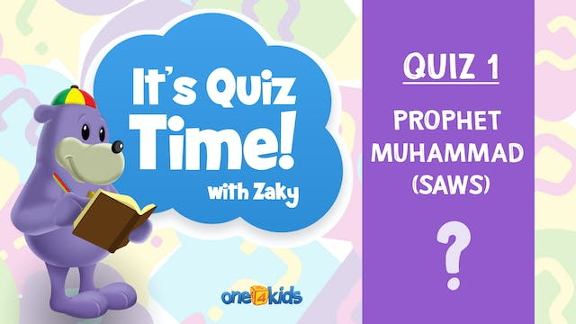 It's Quiz Time With Zaky - 1 - Prophe...