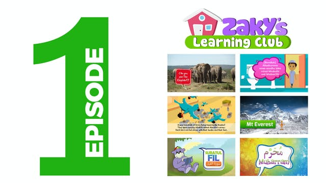 EPISODE 1 - Zaky's Learning Club