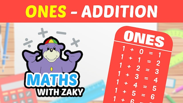 📕 Learn Maths with Zaky - Additions (Number 1)